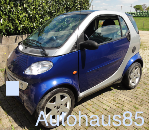 VENDU : SMART 4 Two – 2001 – 71 000km