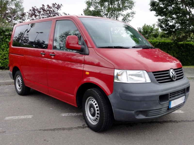 VW Caravelle, 9 places, 2005, 97 000km
