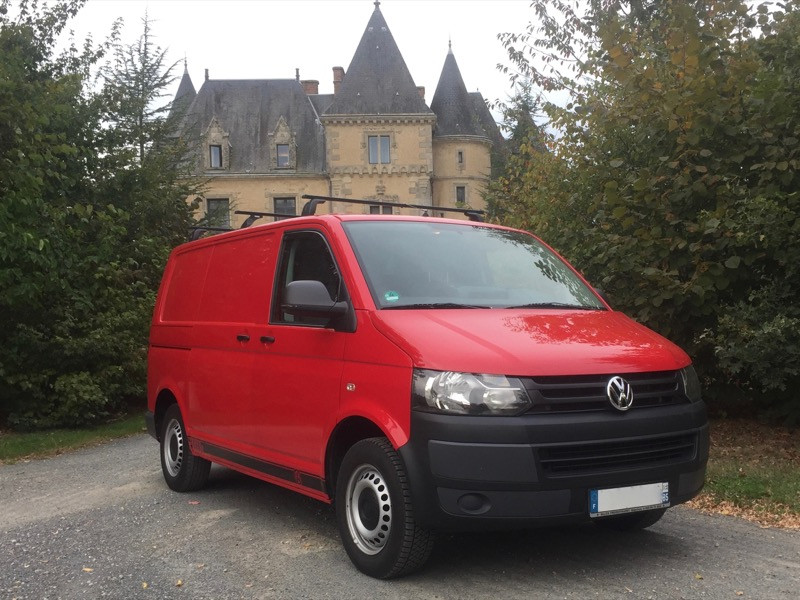 VW Transporter T5 1.9 TDI – 12/2009  *Facelift*