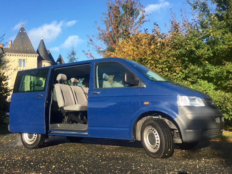 VW Caravelle T5 1.9 TDI, 9 places, 2006, 101 000km