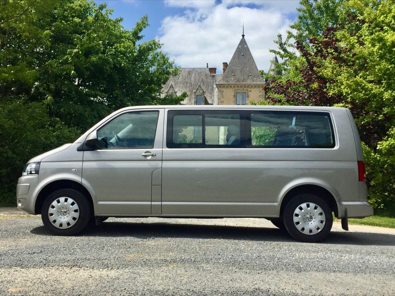 VW T5 2.0 Caravelle, Long, 9places, clim auto