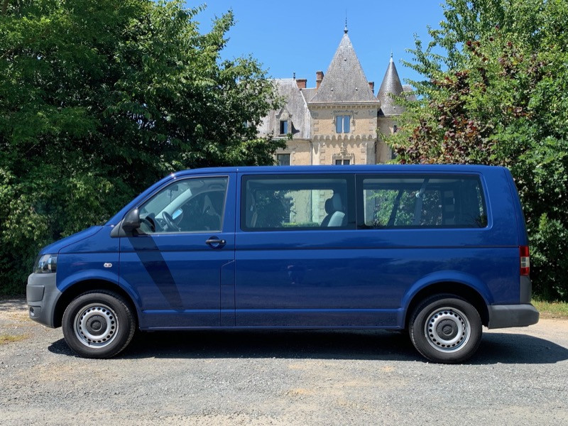 VW T5 2.0TDI, Long, 9places + clim
