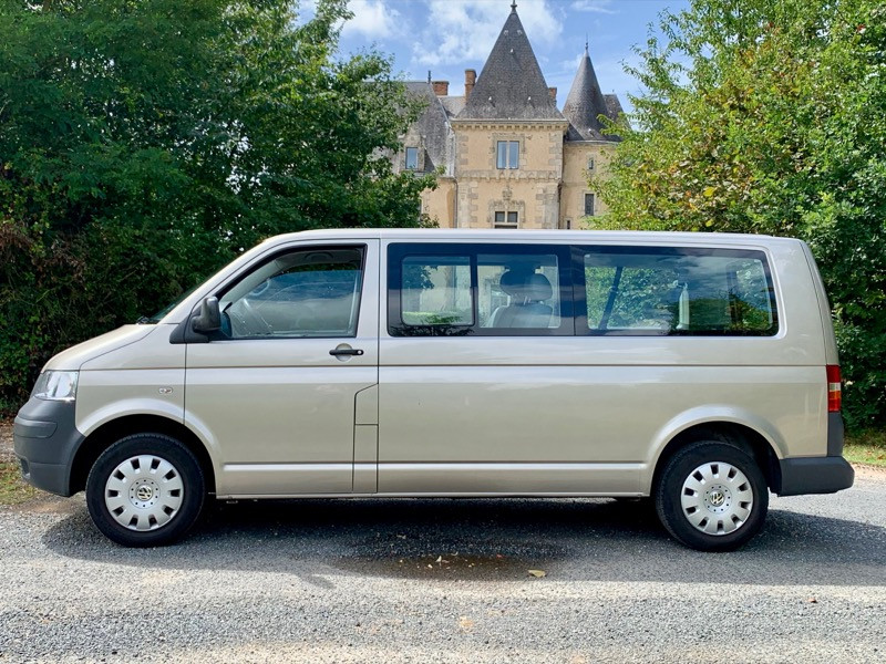 VW T5 1.9TDI Caravelle, Long, 9places, clim