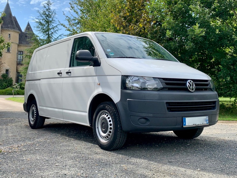 VW Transporter T5 2.0 TDI *facelift*, 04/2012