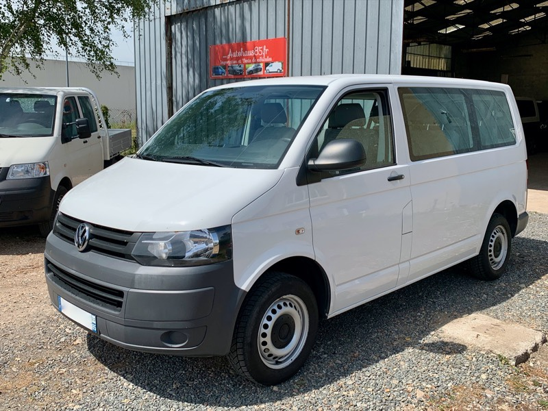 VW Transporter T5 2.0 TDI 8places +clim